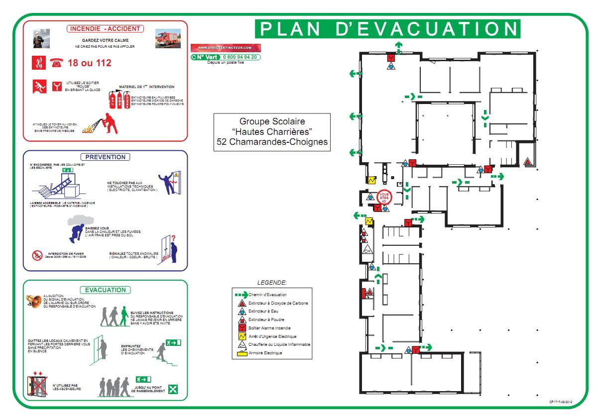 Fire escape route diagram escape route icon elsavadorla for Alarme incendie obligatoire maison