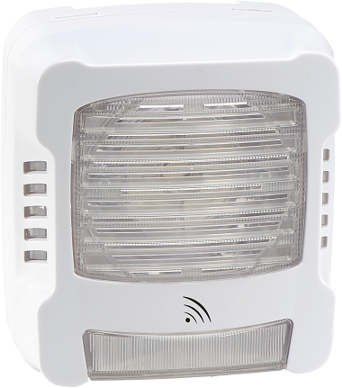 Diffuseur Sonore Lumineux Flash Blanc Radio