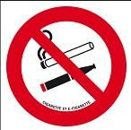 Consigne Interdiction de Fumer E Cigarette