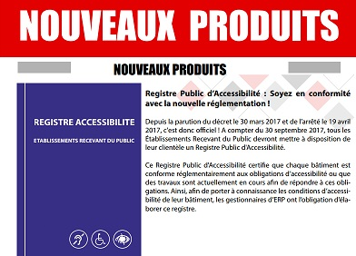 Registre d'accessibilité